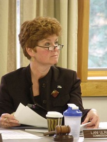 APA chairwoman Lani Ulrich wasn't at this week's meetings.  NCPR file photo