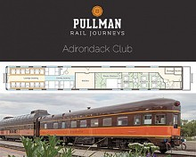 Diagram of the Adirondack Club Pullman Sleeping Car. Source: ANCA