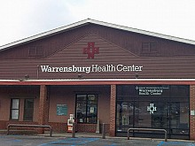 Warrensburg Health Center, one of the clinics participating in the medical home pilot project. Photo: Sarah Harris