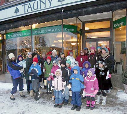 Non-profit groups like TAUNY fill many storefronts in towns across the North Country.