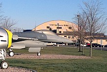 The Air National Guard's 174th Attack Wing is stationed at the Hancock field Air National Guard base near Syracuse, NY. Photo: David Sommerstein