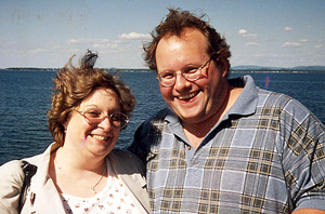 Dawn and Andy Flynn (NCPR file photo)