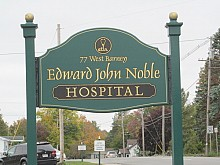 EJ Noble would be renamed Gouverneur Hospital in a new partnership with Canton-Potsdam Hospital. Photo: Julie Grant