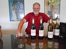 Dave Fralick, of Cape Winery in Cape Vincent, says the cold-hardy grapes grown in north country vineyards make wines with new and interesting flavors: intense and citrusy. Photo: Joanna Richards