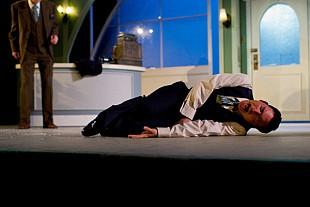 Ron Pederson as Georg. Photo: Jay Kopinski