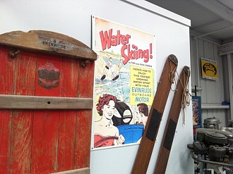 A display at the 1900s showroom floor exhibit. Photo: Zach Hirsch