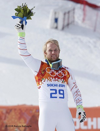 Andrew Weibrecht's silver medal win was a highlight of the Games for the North Country  Photo: Nancie Battaglia
