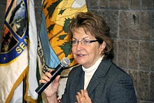 "NY State Sen. Betty Little has State Senator Betty Little issued a statement saying that ""settling the claims is in the state's and property owners' best interests."". NCPR file photo: Mark Kurtz"