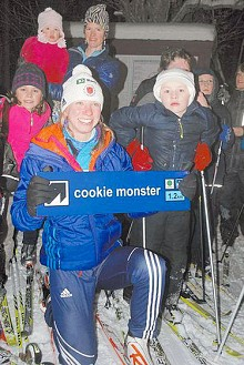 Annelies Cook from Saranac Lake is one of three Adirondackers who will ski and shoot for the US biathlon team in Sochi Russia. Photo: Chris Knight, courtesy <em>Adirondack Daily Enterprise</em>