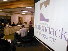 The Adirondack Park Agency commission.  File photo: Brian Mann