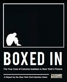 "NYCLU issued its report on isolation practices in state prisons in 2012. Read more <a href=""http://www.boxedinny.org/"">here</a>."