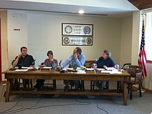 The city councilors and mayor wrote a new resolution. Photo: Sarah Harris