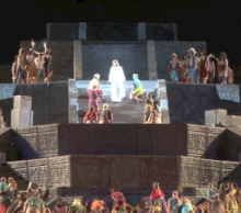 The Hill Cumorah Pageant. Photo: The Church of Jesus Christ of Latter-day Saints