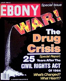 The black press joined the campaign against drugs, raising the alarm about the impact of narcotics on African American neighborhoods.