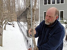Gary Lee is a retired NYS Forest Ranger and licensed bird bander. Photo: David Sommerstein.