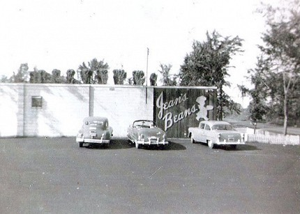 A vintage photo of Jean's Beans from the 1950s. Photo: Jean's Beans