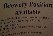 The Lake Placid Pub & Brewery has been adding jobs. Photo: Brian Mann