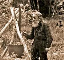Hermit Noah John Rondeau, Photo: Adolph Dittmar