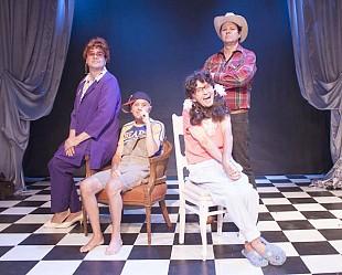 Mr. & Mrs. Bumiller, Jody & Charlene onstage (Photo: Depot Theatre)