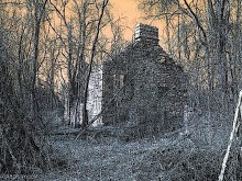 "Graphic manipulation of photos from old Scotch house in Pleasant Lake Wild Forest Area, St. Lawrence County. Image: <a href=""http://oabonny.com/oabonnyartwork.htm"">Old Abandoned Buildings of Northern New York</a>"