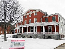 The Parish mansion, now the Frederic Remington Art Museum, on Washington Street in Ogdensburg.   Photo: Todd Moe
