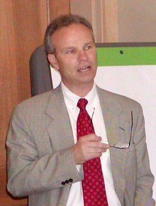ORDA CEO Ted Blazer. Photo: Chris Morris