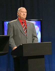 Democrat Tim Carpenter. Photo:  Jennifer Kowalczyk, Mountain Lake PBS