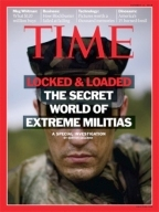"In 2010, Time magazine called Schulz one of the ""philosophers"" of the far right militia movement"
