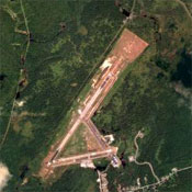 The Adirondack Regional Airport in Lake Clear, New York.
