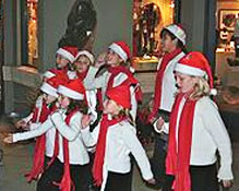 TAUNY hosts a caroling party on Friday starting at 3 pm.