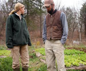 Eric and Joanna Reuter own Chert Hollow Farm near Columbia, Mo. (Photo by Jessica Naudziunas)