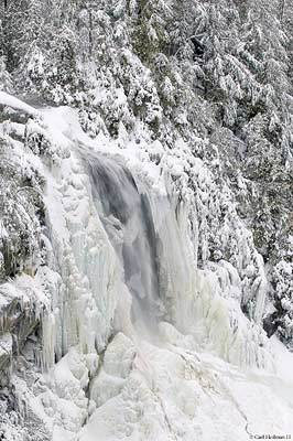 OK Slip Falls, considered one of the prizes of the Finch, Pruyn deal Photo: C. Heilman, courtesy Adirondack Nature Conservancy