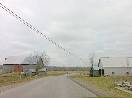 An Amish farm in St. Lawrence county. Photo: Sarah Harris