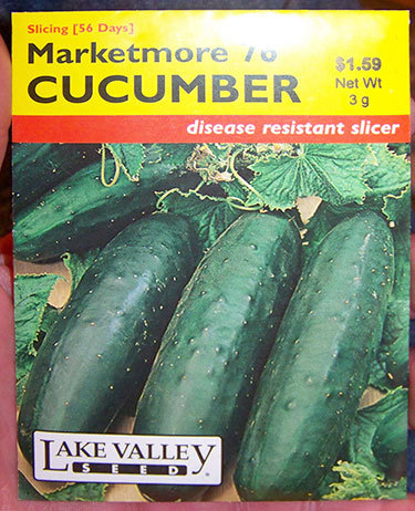 "Seed packet for a disease-resistant variety of cucumber. Photo: <a href=""http://www.flickr.com/photos/20561948@N00/3472478600/"">Cris</a>, Creative Commons, somew rights reserved"