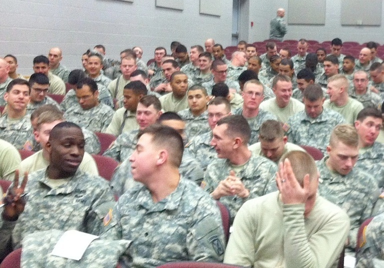 Fort Drum soldiers heading to Iraq | NCPR News
