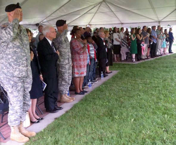 A flood of emotions from friends and family for Fort Drum's