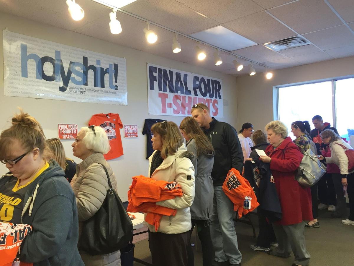 Final Four Fans Flock To The Orange T Shirts That Is Ncpr News