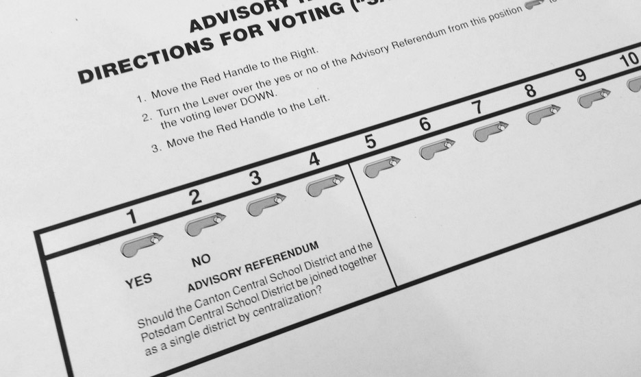 debunking some myths about new york s ballot questions ncpr news sample ballot photo martha foley