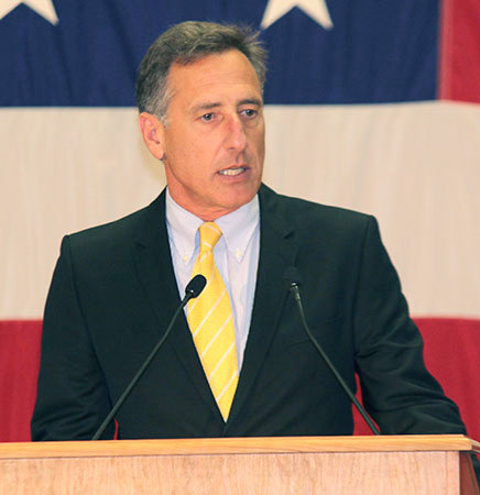 "Vermont Governor Peter Shumlin. Photo: <a href=""http://upload.wikimedia.org/wikipedia/commons/8/89/Peter_Shumlin_2012.jpg"">Community College of Vermont</a>, Creative Commons, some rights reserved"