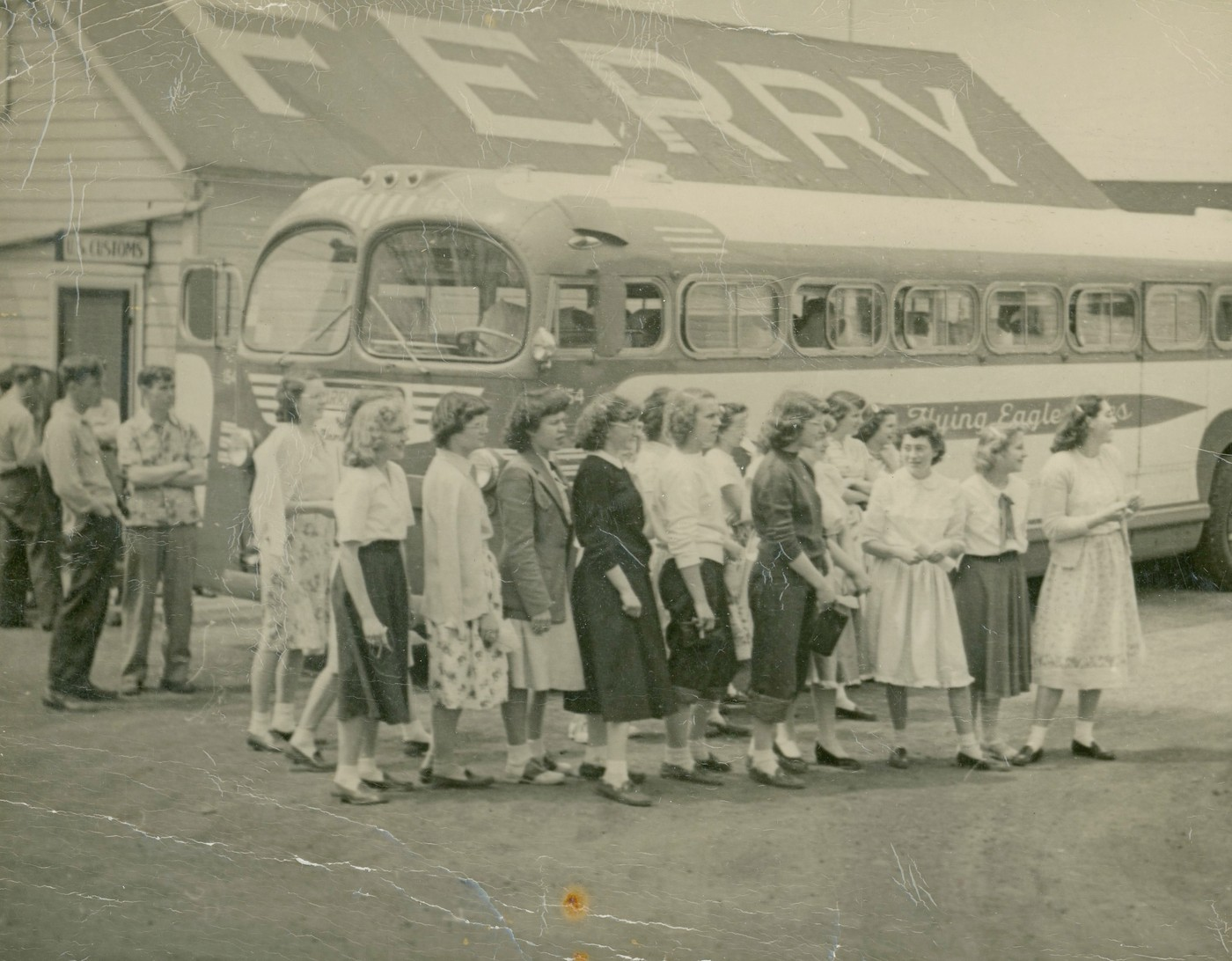 The bus ran between Ogdensburg and Morristown, where passengers could  transfer to the Brockville and Morristown Transportation Company's ferry ...