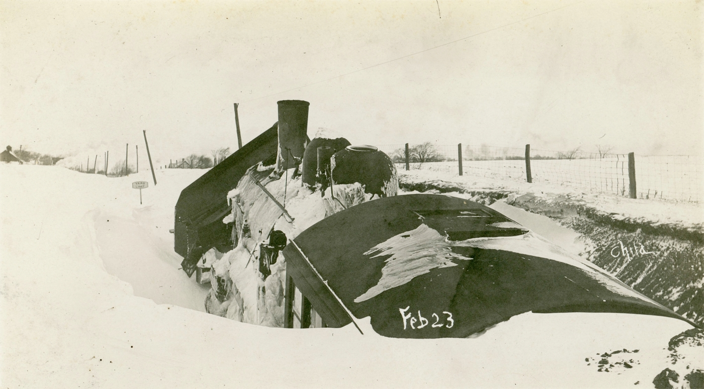 North Country at Work: digging out trains during the great snowstorm