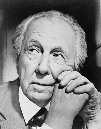 "Architect Frank Lloyd Wright. Photo: <a href=""http://en.wikipedia.org/wiki/Frank_Lloyd_Wright#mediaviewer/File:Frank_Lloyd_Wright_portrait.jpg"">Al Ravenna</a>, public domain"
