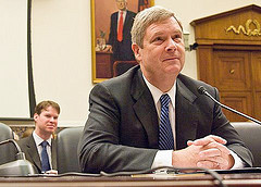 """Agriculture Secretary Tom Vilsack<br />Photo: <a href=""""https://www.flickr.com/photos/celtico/4789746688/"""">mikescottnz</a>, Creative Commons, some rights reserved"""