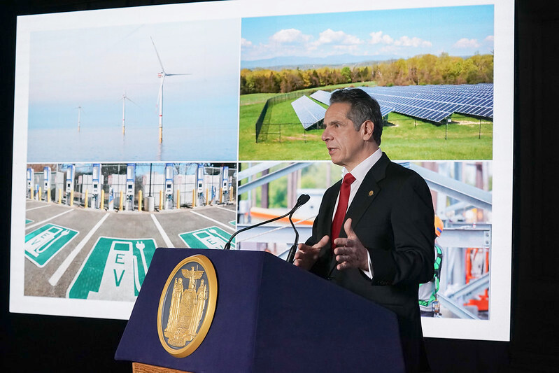 Cuomo unveils ambitious green energy program for New York