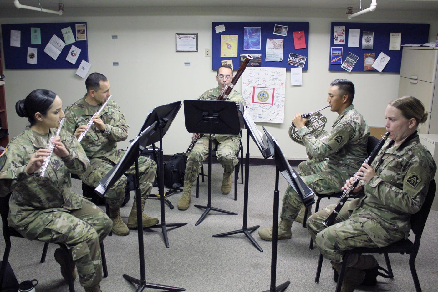 A Swan Song For Some Military Bands Budget Cuts Stop The