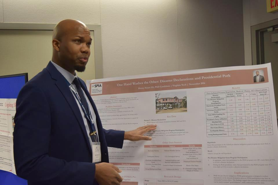 Henry Smart is an assistant professor in the Department of Public Management at CUNY's John Jay College of Criminal Justice. Photo courtesy of Henry Smart.