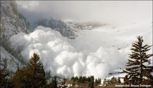 National Weather Service Warns Of Avalanche Risk