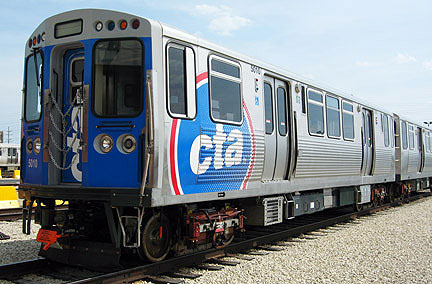 Bombardier has stopped production on a Chicago Transit Authority railcar after problems surfaced with one part. Photo: railway-technology.com