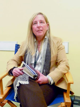 Betsy Brown, president and CEO of Planned Parenthood of the North Country. Photo: Chris Morris, courtesy of Adirondack Daily Enterprise