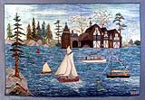 Prudence Matthews' <i>Boldt's Yacht House</i>, 1995.